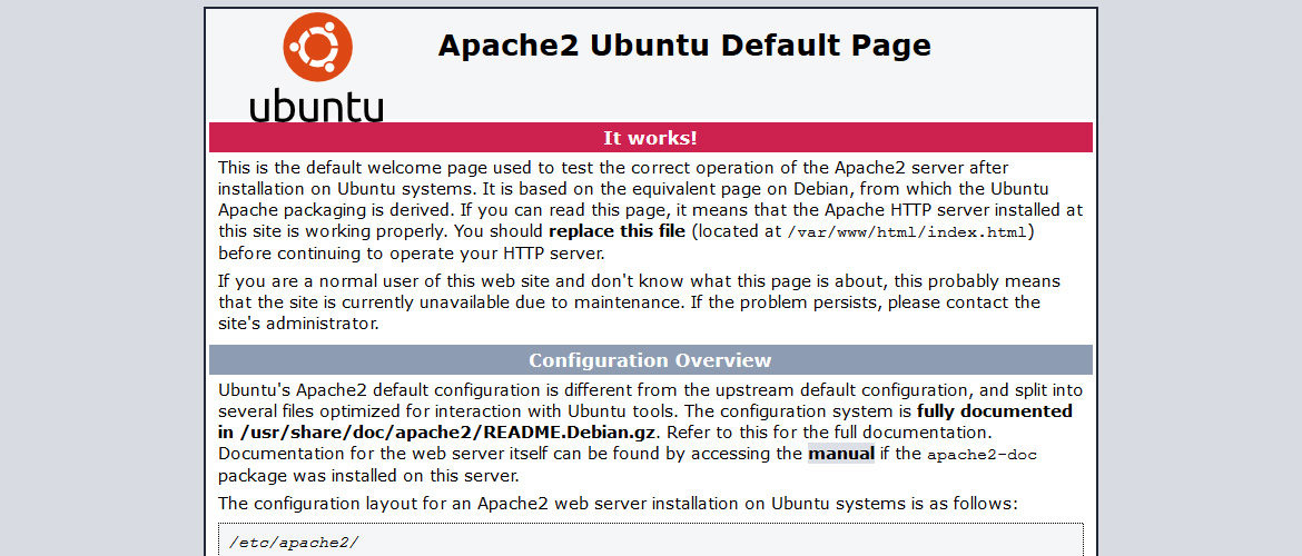 install and optimize apache on ubuntu