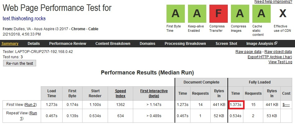 vultr speedtest