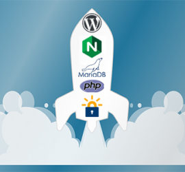 wordpress lemp + lets encrypt