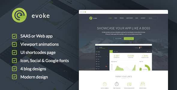 evoke wordpress