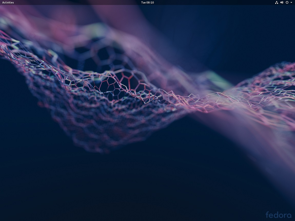 Fedora 29 with GNOME