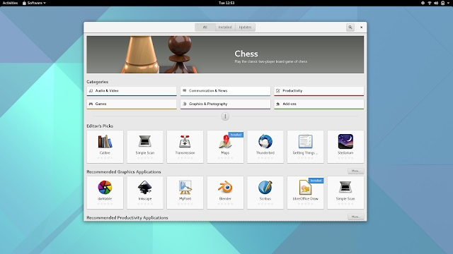 gnome software center