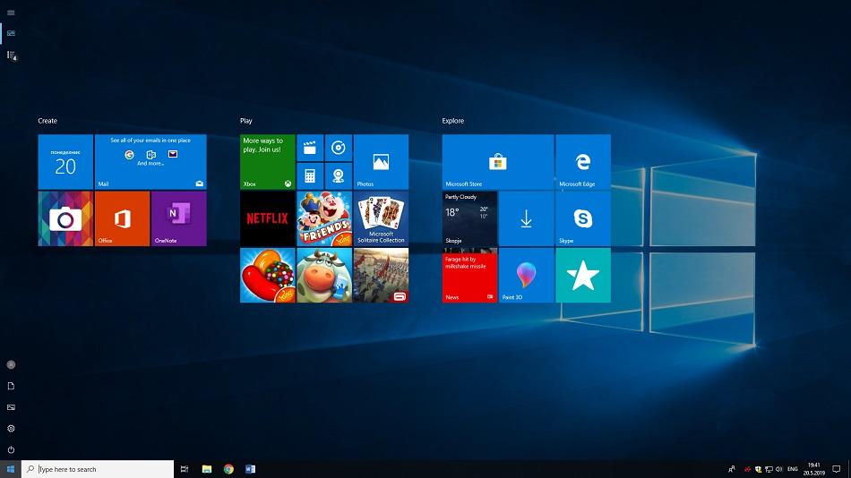 Windows search - large