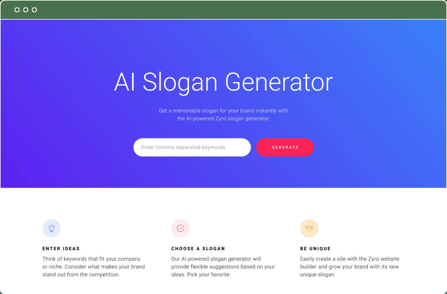 slogan generator