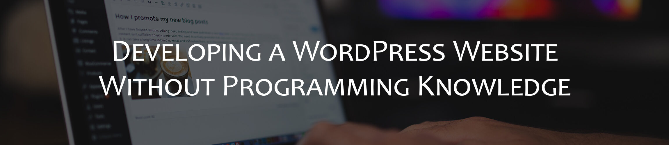 Developing a WordPress Website Without Programming Knowledge
