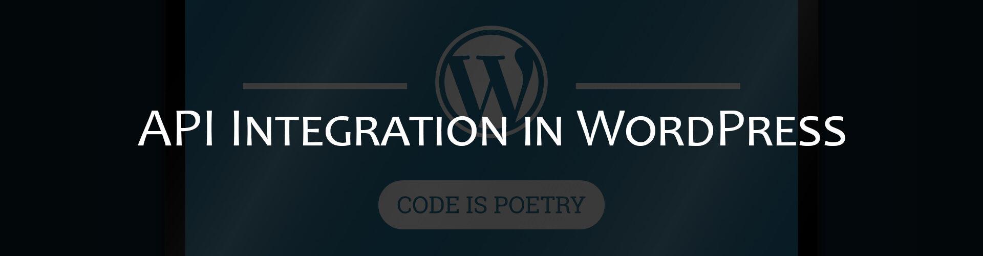API Integration in WordPress