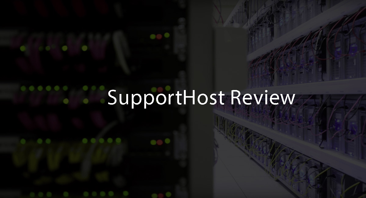 supporthost review